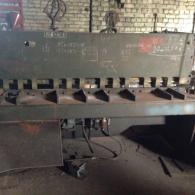 Ножницы гильотинные с пневмомуфтой НК3418