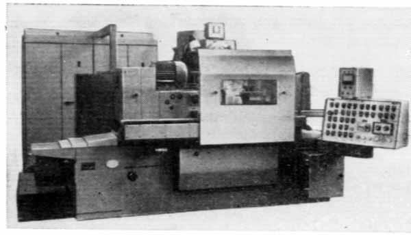 3Т160 Полуавтомат торцекруглошлифовальный.