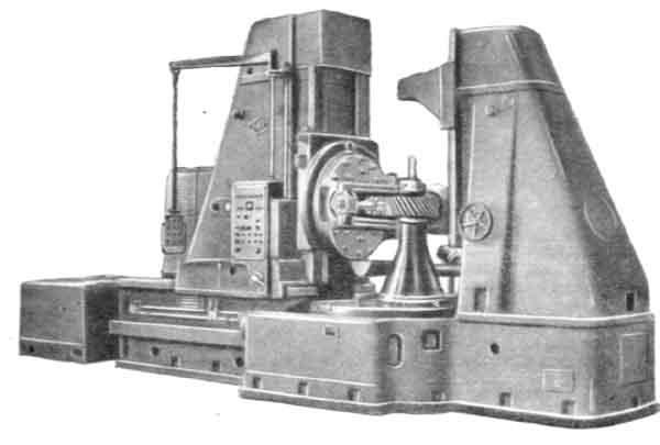 5А342П Станок зубофрезерный вертикальный для цилиндрических колес