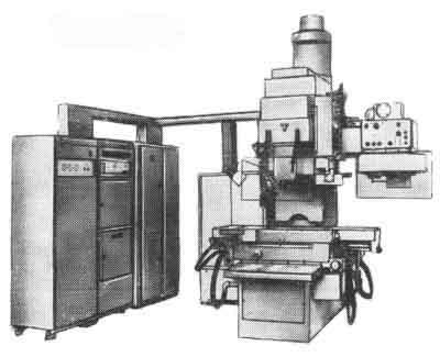 ЛФ260МФ3-01 Полуавтомат вертикально-фрезерный с крестовым столом, ЧПУ, АСИ