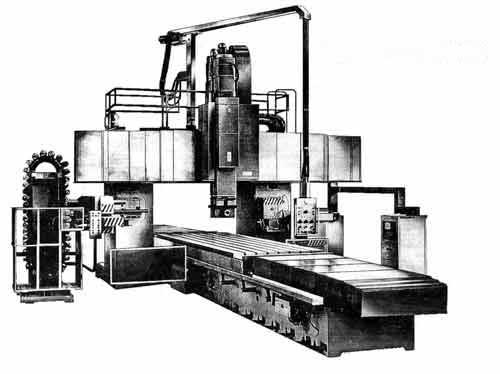 6М610Ф1-08 Станок продольный многооперационный фрезерно-расточный двухстоечный с УЦИ и преднабором