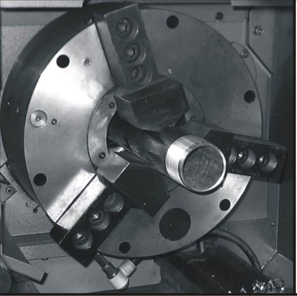 ППТ-410.140.J11  Патрон токарный 3-х кулачковый со встроенным пневмоприводом для обр. труб