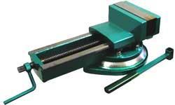 7200-0224  Тиски станочные с ручным приводом неповоротные
