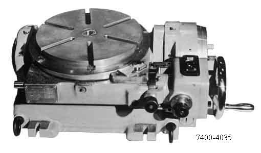 7400-4035  Стол поворотный делительный универсальный