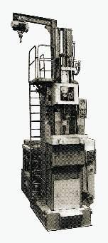 МП7А612 Полуавтомат протяжной вертикальный для внутреннего протягивания