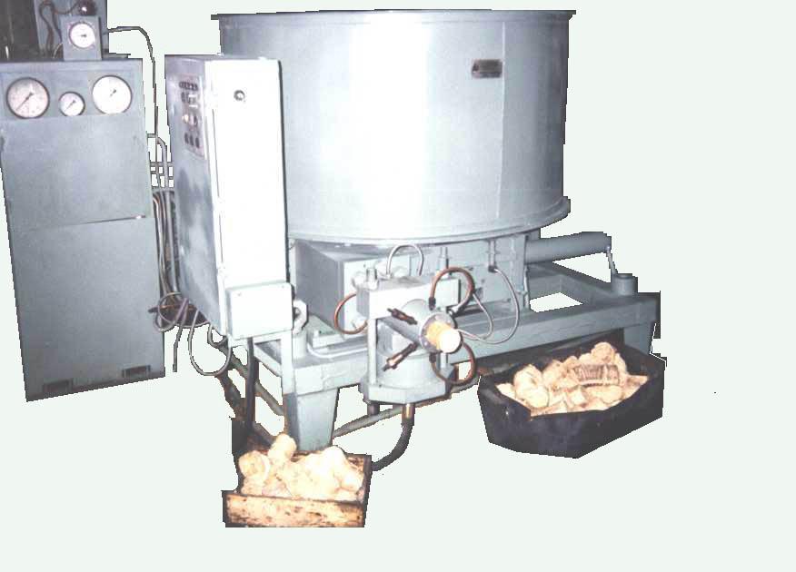 Аппарат для прессовки опилок