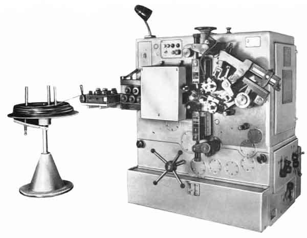 А5218 Автомат для холодной навивки пружин (муфтного типа)