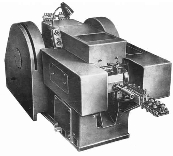АА1216 Автомат холодновысадочный однопозиционный 2-х ударный с цельной матрицей специальный