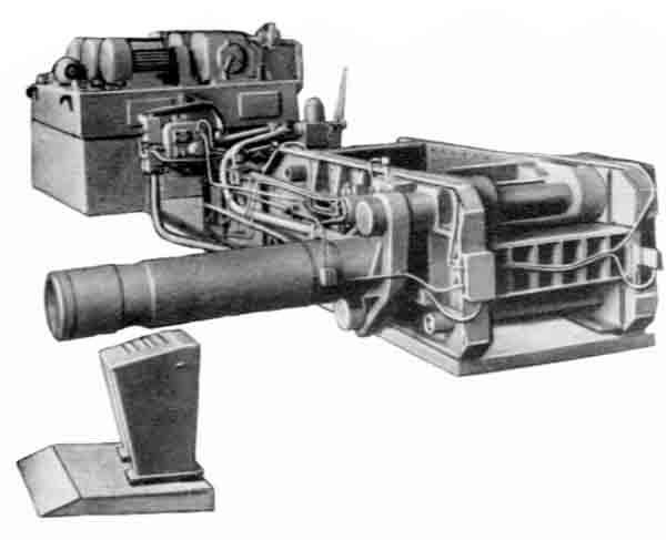 БА1330 Пресс гидравлический пакетировочный для металлических отходов