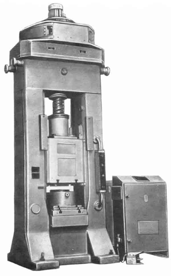 Ф1734 Пресс винтовой с дугостаторным приводом