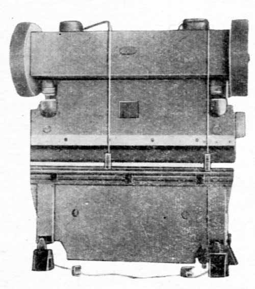 И1330 Пресс листогибочный кривошипный