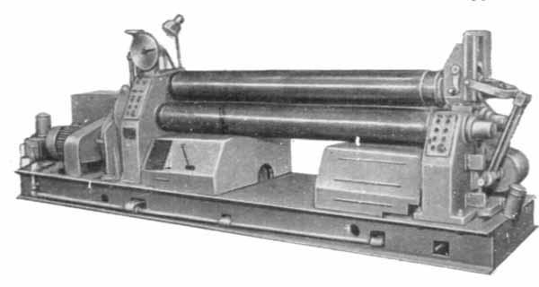 И2220А Машина листогибочная трехвалковая