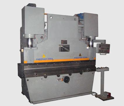 ИБ1430Б Пресс листогибочный гидравлический