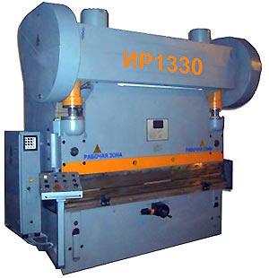 ИР1330  Пресс листогибочный пневмомуфта
