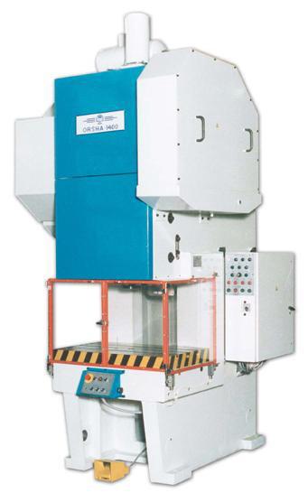 ОРША-1400 Пресс кривошипный с пневмомуфтой