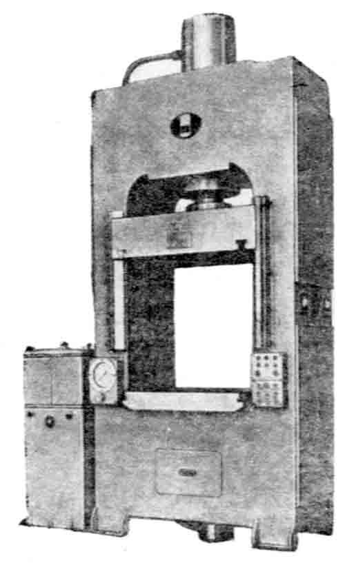 ПД476 Пресс гидравлический для изготовления изделий из пластмасс